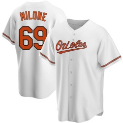 Tommy Milone Baltimore Orioles Youth Replica Home Jersey - White