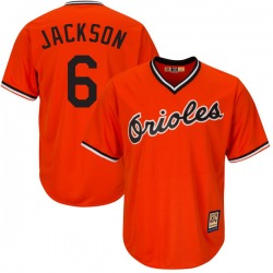 Drew Jackson Baltimore Orioles Youth Replica Majestic Cool Base Alternate Jersey - Orange