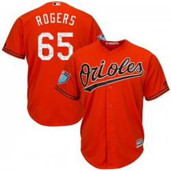 Josh Rogers Baltimore Orioles Youth Authentic Majestic Cool Base 2018 Spring Training Jersey - Orange